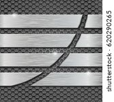 metal perforated background... | Shutterstock . vector #620290265