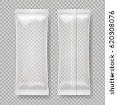 transparent blank foil food... | Shutterstock .eps vector #620308076