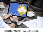 cloud storage network community ... | Shutterstock . vector #620313356
