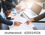 business concept  business man... | Shutterstock . vector #620314526