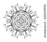 vintage circular pattern of... | Shutterstock .eps vector #620325992