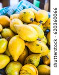 Small photo of Fresh canistel fruits, Thailand.