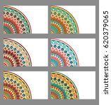 collection retro cards. ethnic... | Shutterstock . vector #620379065