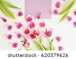 feminine stylish mock up with... | Shutterstock . vector #620379626