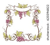 vector illustration  floral... | Shutterstock .eps vector #620396822