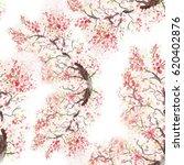 seamless pattern japanese... | Shutterstock . vector #620402876
