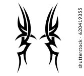 tattoo sketch tribal vector...   Shutterstock .eps vector #620419355