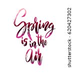 spring calligraphy card.... | Shutterstock . vector #620427302