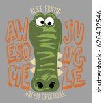 jungle animal  vector print | Shutterstock .eps vector #620432546