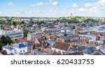 panorama of the aerial view of... | Shutterstock . vector #620433755