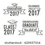 congratulations graduate ... | Shutterstock .eps vector #620437316