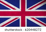 united kingdom flag with grunge ... | Shutterstock . vector #620448272