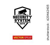 camera security system cctv... | Shutterstock .eps vector #620462405