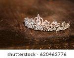 wedding crown tiara diadem....   Shutterstock . vector #620463776