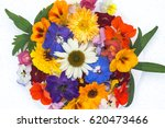 edible flowers   food flowers   ...   Shutterstock . vector #620473466