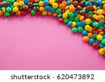 Colorful Candies On Color...