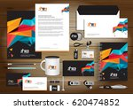 vector abstract stationery... | Shutterstock .eps vector #620474852