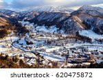 beautiful panoramic view of... | Shutterstock . vector #620475872