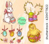 vector set with linear sketches.... | Shutterstock .eps vector #620477822