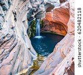 hamersley gorge  spa pool ... | Shutterstock . vector #620482118