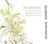 vector flowers | Shutterstock .eps vector #62048749