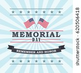 happy memorial day template for ... | Shutterstock .eps vector #620506418