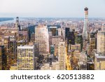 new york city skyscrapers at... | Shutterstock . vector #620513882