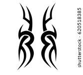 tattoo sketch tribal vector...   Shutterstock .eps vector #620518385