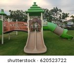 children's playground  the...   Shutterstock . vector #620523722