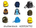 travel bags and backpacks for... | Shutterstock . vector #620526752