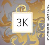 gold marble vector thanks... | Shutterstock .eps vector #620541782