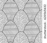 black  white seamless pattern... | Shutterstock .eps vector #620565632