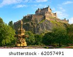 Edinburgh Castle  Scotland ...