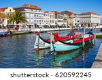 traditional boats on the canal... | Shutterstock . vector #620592245