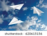 vector abstract background with ... | Shutterstock .eps vector #620615156