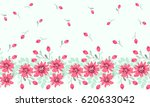 pretty vintage feedsack border... | Shutterstock .eps vector #620633042