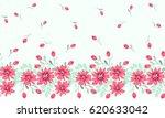 pretty vintage feedsack border... | Shutterstock .eps vector #620633042