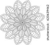 black and white pattern for... | Shutterstock .eps vector #620639462
