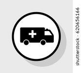 ambulance sign illustration.... | Shutterstock .eps vector #620656166