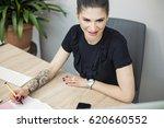 successful modern tattoo... | Shutterstock . vector #620660552