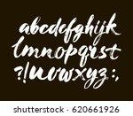 vector acrylic brush style hand ... | Shutterstock .eps vector #620661926