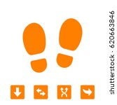 trail shoes icon | Shutterstock .eps vector #620663846