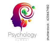 modern head logo sign of... | Shutterstock .eps vector #620667482