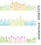 flower line   Shutterstock .eps vector #62067373