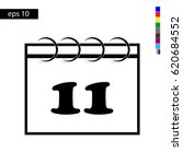 calendar icon vector...