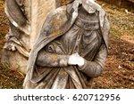 Headless Statue In Cemetery In...