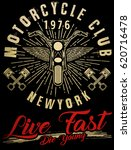 motorcycle typography  vintage...   Shutterstock .eps vector #620716478