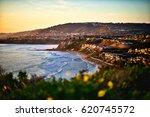 dana point california sunset... | Shutterstock . vector #620745572