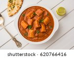 paneer butter masala or cheese... | Shutterstock . vector #620766416