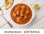 paneer butter masala or cheese... | Shutterstock . vector #620766416